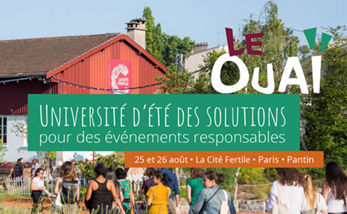 Le OUAï : Université d'été des solutions pour des événements