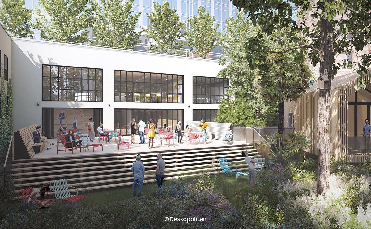 A venir à Montparnasse: le coworking végétal by Deskopolitan